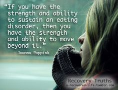 Strength and eating disorders