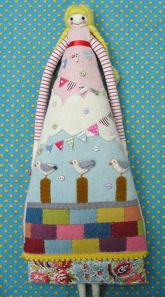Patchwork doll - adorable
