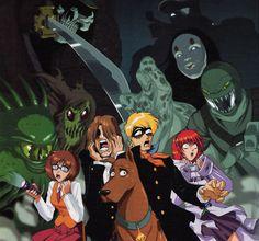 Scooby-Doo as anime.