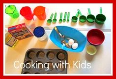Reading and cooking: Cooking with kids based on books