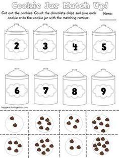 Smart Cookies Go Back to School: Back to School Math, Literacy, & Fun for K-2 #backtoschool #smartcookies #firstgrade #kindergarten #counting