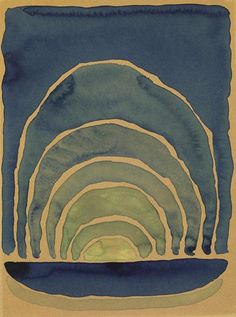 Georgia O'Keeffe, from the series Light Coming on the Plains (1917)