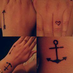 Sharpie tattoos on pinterest sharpie tattoos tree of for Sharpie tattoo designs