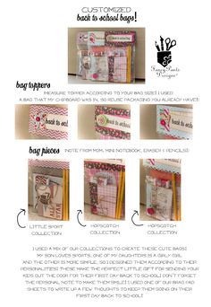 Simon Says Stamp Blog!: Back to School Friday FUN: Part 3! from Fancy Pants Designs!
