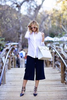 yes to culottes and