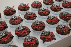 Vader Cupcakes