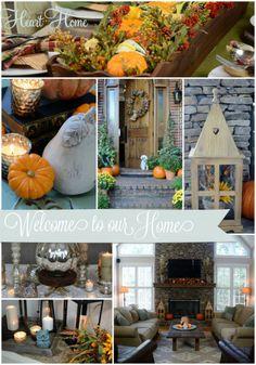 Fall tour of homes #falldecorating #fallhometour