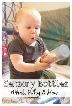 Sensory Bottles | AWESOME explanation of the What, Why and How! Start of a new series, MUST PIN!