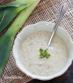 soups, breakfast recip, dinner serv, healthi, irish oatmeal, easi recip, comfort food, oatmeal leek, leek soup