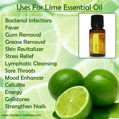 Uses for Lime Essential Oil