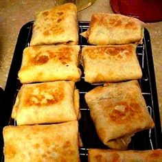 Fast, Easy Appetizer Recipes. Chicken Chimichangas