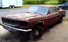 Swayback Pony: 1968 Mustang GT 302 - http://barnfinds.com/swayback-pony-1968-mustang-gt-302/