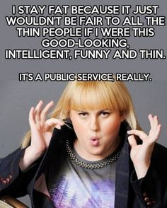 Rebel Wilson about her weight - SunnyLOL