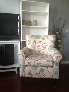My main design inspiration (Chair:  http://www.wayfair.com/Home-Loft-Concept-Flowered-Chair-345501-NFN1486.html)