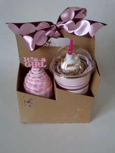 Starbucks-inspired baby gift