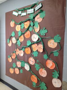PUMPKIN PATCH BULLETIN BOARD - TeachersPayTeachers.com