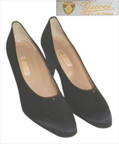 Gucci Black Designer Shoes