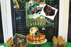 Excellent idea -- #Baylor-themed birthday party! (More pics if you click the link)