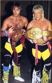 Rock and Roll Express--Had a huge crush on Robert Gibson
