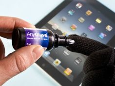 With AnyGlove, you don't have to buy different capacitive gloves for different activities. You can turn most of your existing gloves into touchscreen gloves by just applying a few layers of the pattern pending solution on the finger tips of the gloves. Each bottle of AnyGlove has enough solution to treat multiple pairs of gloves. The treated gloves can last for months or even longer.