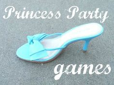Simple Princess Party game and activity
