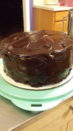 my version of this: http://chocolatechocolateandmore.com/2014/08/ding-dong-cake/