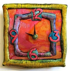 Polymer Clay Clocks