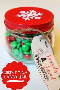 #Christmas Candy Jar #holiday from Lil' Luna #MarthaStewart