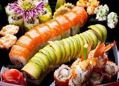 #sushi display