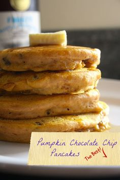 Delicious Pumpkin Spice Pancakes from Mmm... is for Mommy