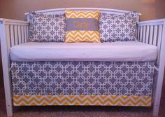 Love crib bedding, custom crib, bed set, crib skirt, places, cribs, gray, bedding sets, pillows