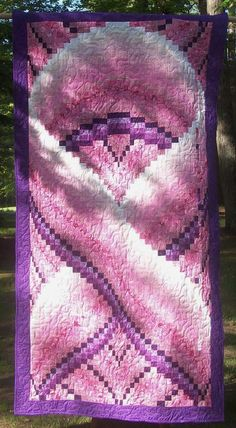 Breast Cancer Ribbon Quilt