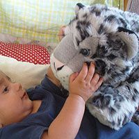 These extra large sized plush make them perfect for extra large cuddles! They measure to be about 3 feet long from head to tail! If you want to add this guy to your family, just click the picture to learn more. Price: $30.00.    For other products from the Snow Leopard Trust, visit: http://www.snowleopard.org/shop/