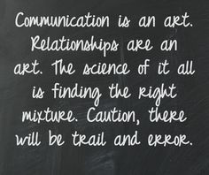 Let us all create meaningful words, and worthwhile relationships. #creatingart