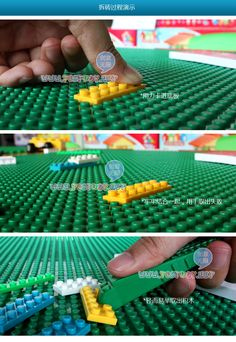 If it fits for Lego it could be a helping hand for kids