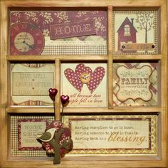 Simple Stories shadowbox - LOVE!