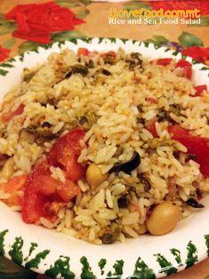 rice seafood salad - www.ilovefood.com.mt