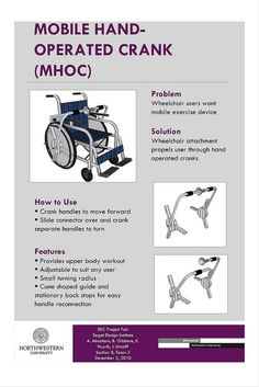 exercise for wheelchair users!