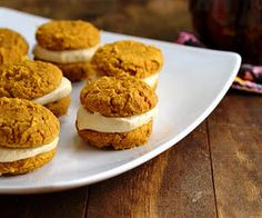 Pumpkin Whoopie Pies (Low Carb and Gluten Free)