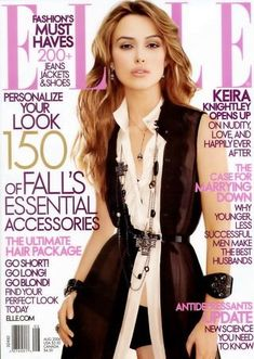 Elle US August 2006 - Kiera Knightley