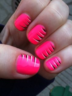 Neon tiger print