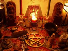 Candle Mgick Correspondences by the Day