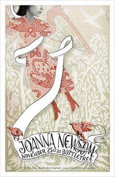 Joanna Newsom: Joanna Newsom Concert Poster