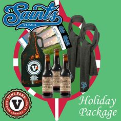 The Saints have the perfect gift idea for you this holiday season. Our Holiday Ticket Package features two (2) five-game ticket plans, two (2) Saints scarves, a 64 oz. growler of beer and a six-pack of root beer from Vine Park Brewery. A $170 value for just $110. To order, call 651-644-6659 or visit saintsbaseball.com