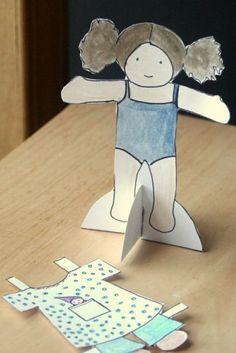 Waldorf Paper dolls