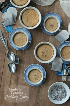 English Teatime Pudding Cakes | Baking a Moment