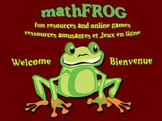 Fantastic math website for Grades 4, 5,  6 from the University of Waterloo!