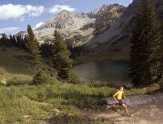 trail running :)