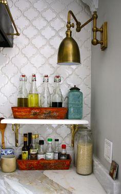 kitchen details.