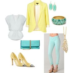 Spring look, created by rino13 on Polyvore
